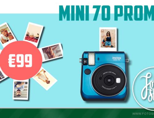 Fuji Instax Mini 70 Promo